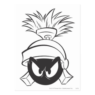 MARVIN le MARTIAN™ 5 expressifs Carte Postale