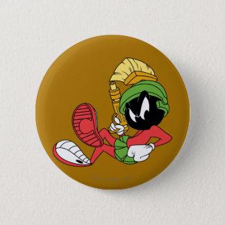 MARVIN le MARTIAN™ reposant avec le laser Badges