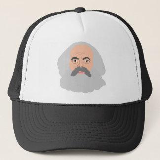 Marx font face au casquette