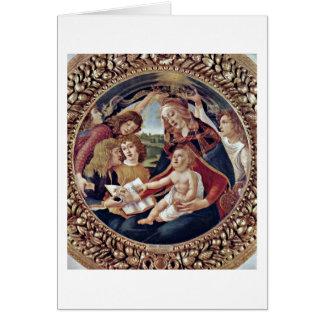 Mary, enfant du Christ et anges par Sandro Cartes
