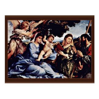 Mary et St Catherine de l'Alexandrie St James D. Cartes Postales