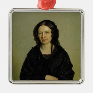 Mary Kramer, 1845 Ornement Carré Argenté