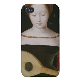 Mary Magdalene jouant un luth Coque iPhone 4