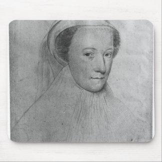Mary, reine des Ecossais dans le deuil blanc, 1560 Tapis De Souris