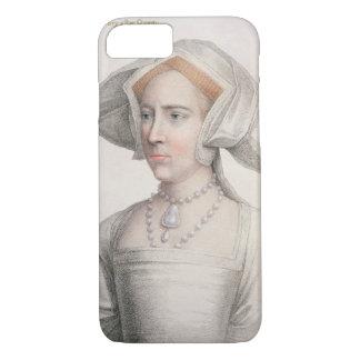 Mary Tudor (1516-58) gravé par Francesco Bartolo Coque iPhone 8/7