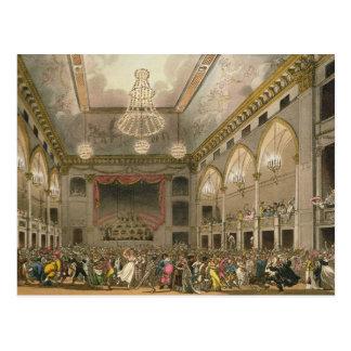Mascarade de Panthéon du 'microcosme d'Ackermann Carte Postale