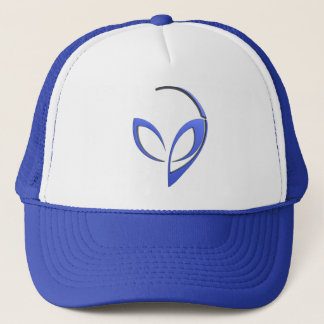 Mascotte étrangère dans le bleu casquette