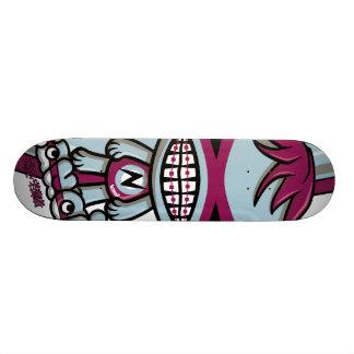 Mascotte nerd skateboards personnalisables