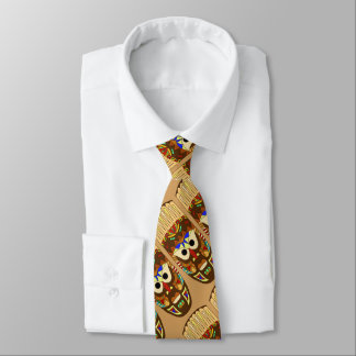 masque africain traditionnel cravate