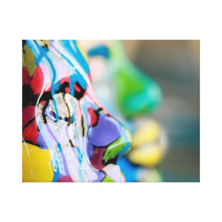 Masque, art de résine par l'artiste Gary Bradley Impressions Sur Toile