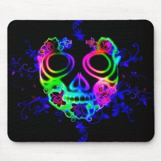 Masque coloré Mousepad de Halloween de Mexicain Tapis De Souris