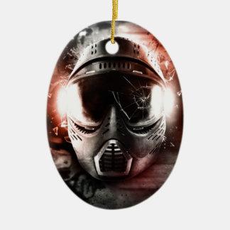 Masque d'Action Paintball m-2 Ornement Ovale En Céramique