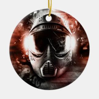 Masque d'Action Paintball m-2 Ornement Rond En Céramique