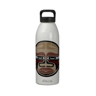 Masque de Buffalo - bouteille d'eau en aluminium -