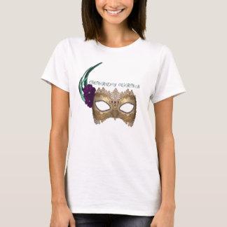 Masque de fantaisie de mardi gras de KRW T-shirt