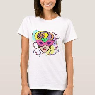 Masque de festival de mardi gras de KRW T-shirt