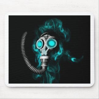 Masque de gaz tapis de souris