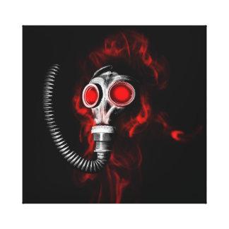 Masque de gaz toile