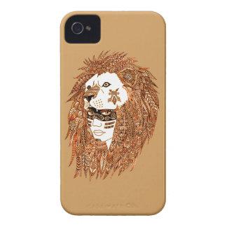 Masque de lion coques iPhone 4