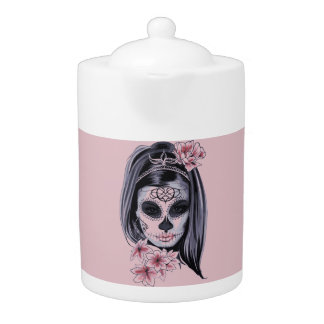 Masque de squelette de femme