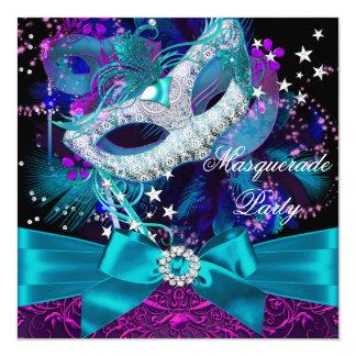 Masque d'étincelle et invitation de partie de