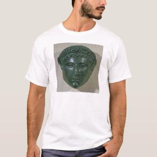 Masque d'un casque de défilé, de Hirchova T-shirt