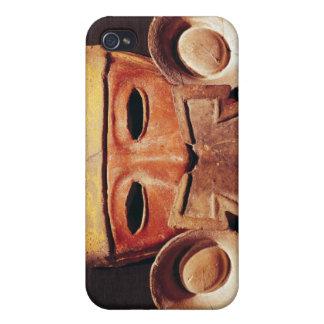 Masque humain, de Teotihuacan Coque iPhone 4