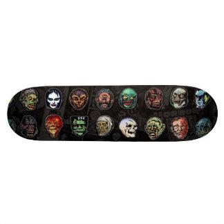 Masques de monstre de film d'horreur (couleur) skateoard personnalisé