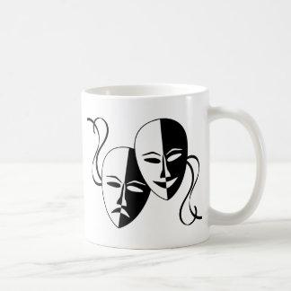 Masques de théâtre mug