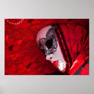 Masques de Venise, carnaval Posters