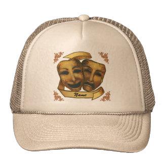 Masques faits sur commande d'acteur nommé casquettes