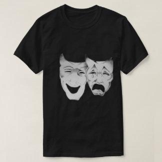 Masques heureux et tristes t-shirt