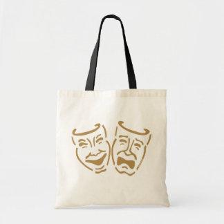 Masques simples de drame sac fourre-tout