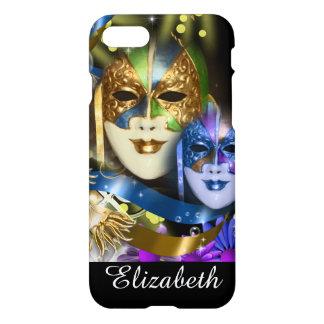 Masques vénitiens de quinceanera de mascarade coque iPhone 7