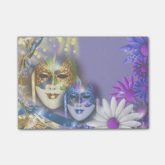Masques vénitiens de quinceanera de mascarade post-it®
