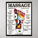 Massage de pied/thérapie thaïlandais de réflexothé posters