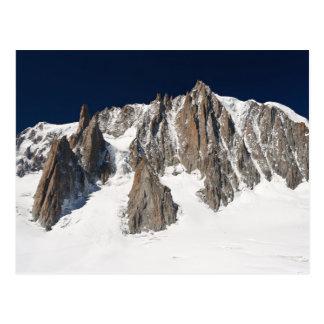 Massif de Mont Blanc Carte Postale