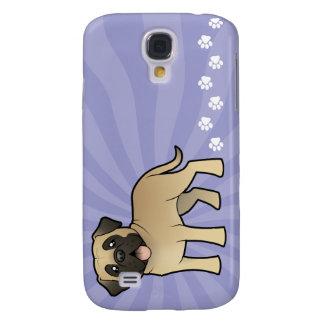 Mastiff/Bullmastiff de bande dessinée Coque Galaxy S4