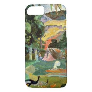 Matamoe ou, paysage avec des paons, 1892 coque iPhone 7
