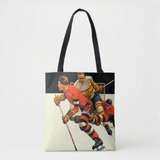 Match de hockey sur glace sac