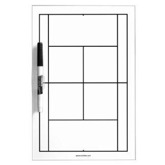 Matériaux de court de tennis pour le tableau blanc tableau effaçable à sec