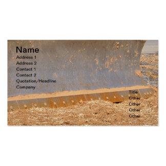 matériel de construction modèle de carte de visite