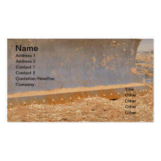 matériel de construction carte de visite standard