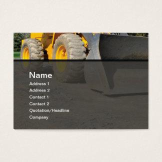 matériel de construction cartes de visite