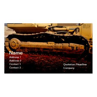 matériel de construction résistant carte de visite standard