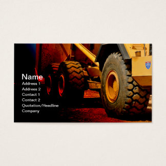 matériel de construction résistant cartes de visite