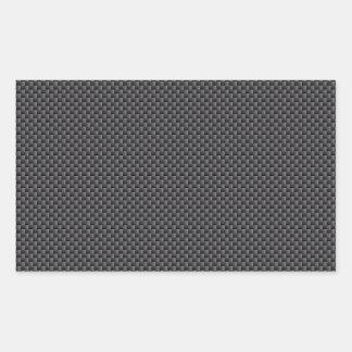 Matériel de fibre de carbone de Kevlar Sticker Rectangulaire