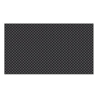 Matériel de fibre de carbone de Kevlar Carte De Visite Standard