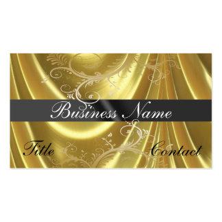 Matériel d'or et cartes de visite d'or de vignes carte de visite