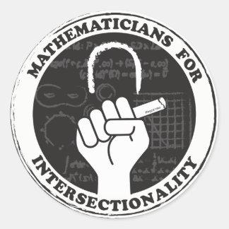 Mathématiciens pour des autocollants